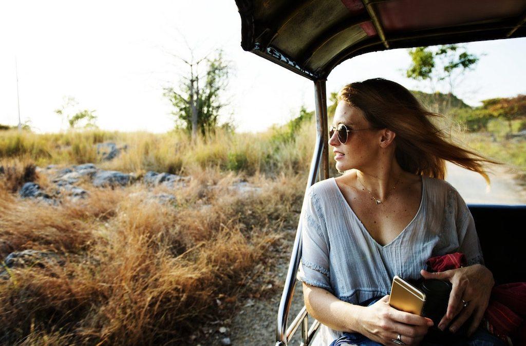 Enjoying a Safari in Uganda